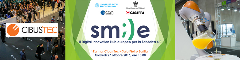 Presentation of SMILE and Focus Group at CibusTec, Parma Fair